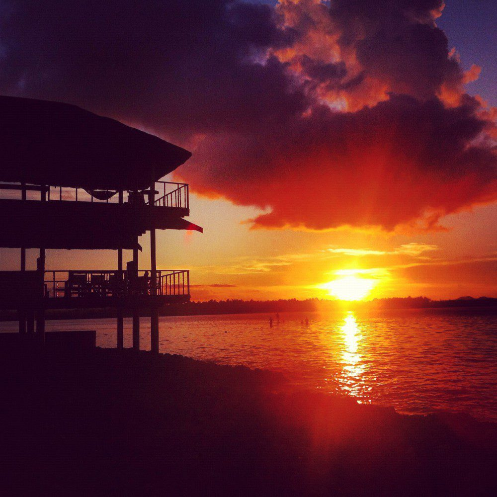 Sunset in Siargao