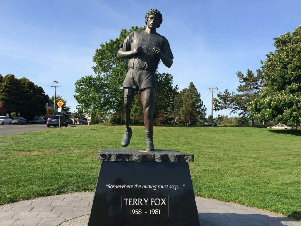 Beacon Hill Park Terry Fox Statue