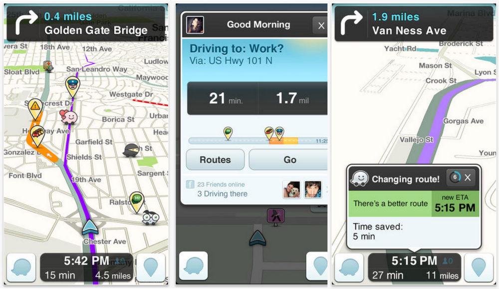 Waze - Best Travel Apps