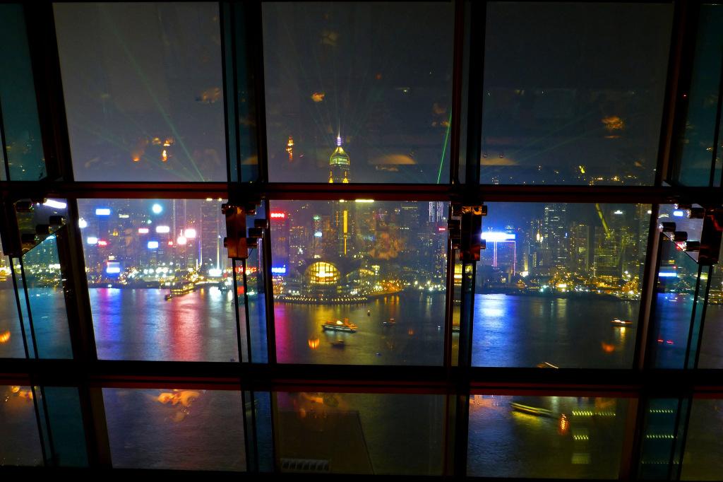 Symphony of Lights from Aqua - Hong Kong Views Not To Miss