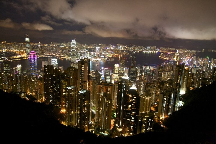Hong Kong Victoria Peak View