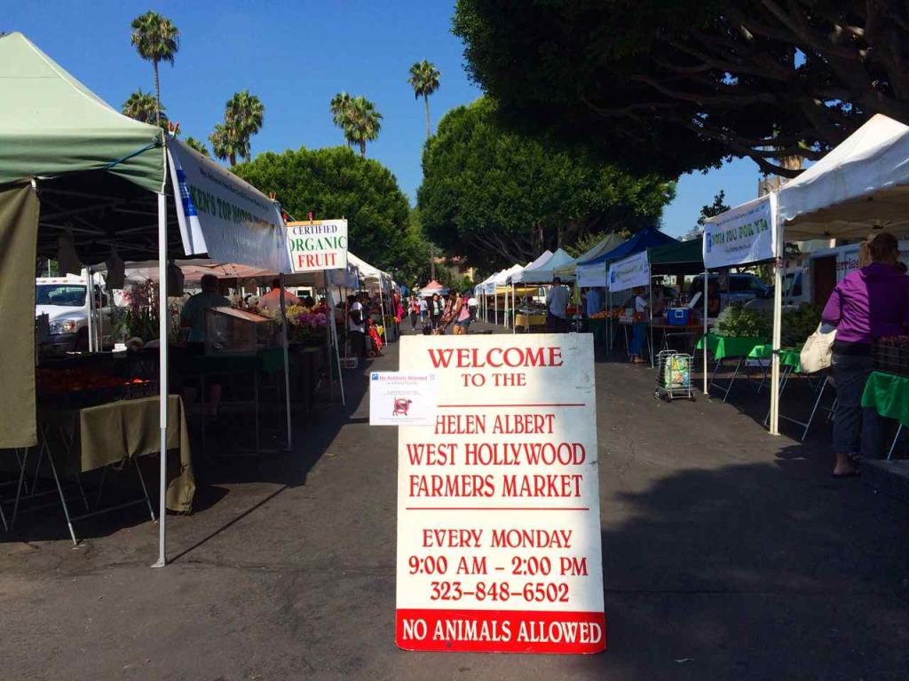 Helen Albert West Hollywood - Los Angeles Farmers Market | www.rtwgirl.com