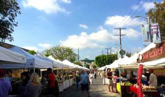 Melrose Place Farmers - Los Angeles Farmers Markets | www.rtwgirl.com