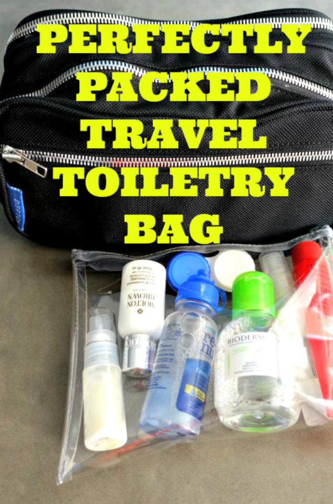 Travel Toiletry Bag | www.rtwgirl.com