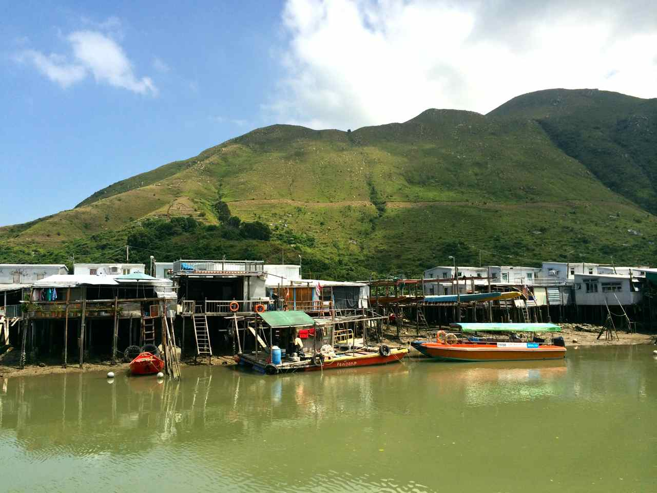 Tai O Fishing Village - Lantau Island Hong Kong