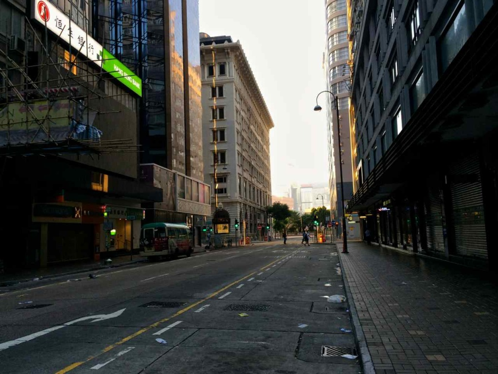 Quiet road in TST