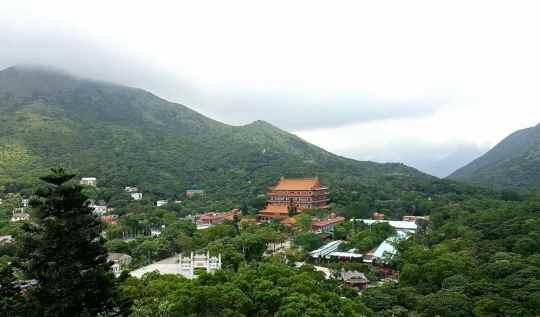 View from Tian Tan Buddha | rtwgirl