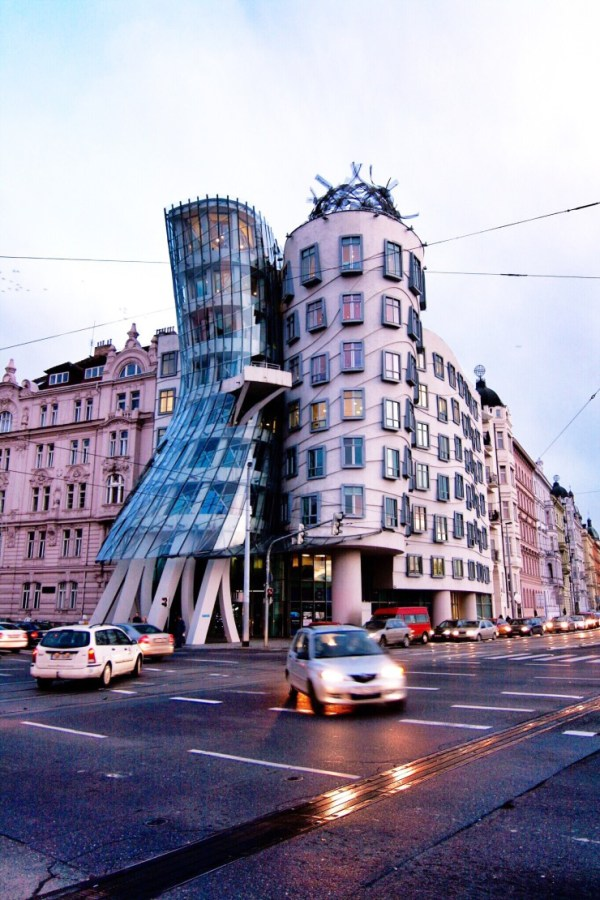 Prague Dancing House Tancici Dum by Frank Gehry