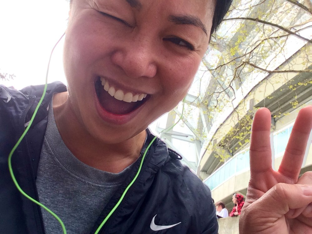 Vancouver Sun Run 2014 Finished!
