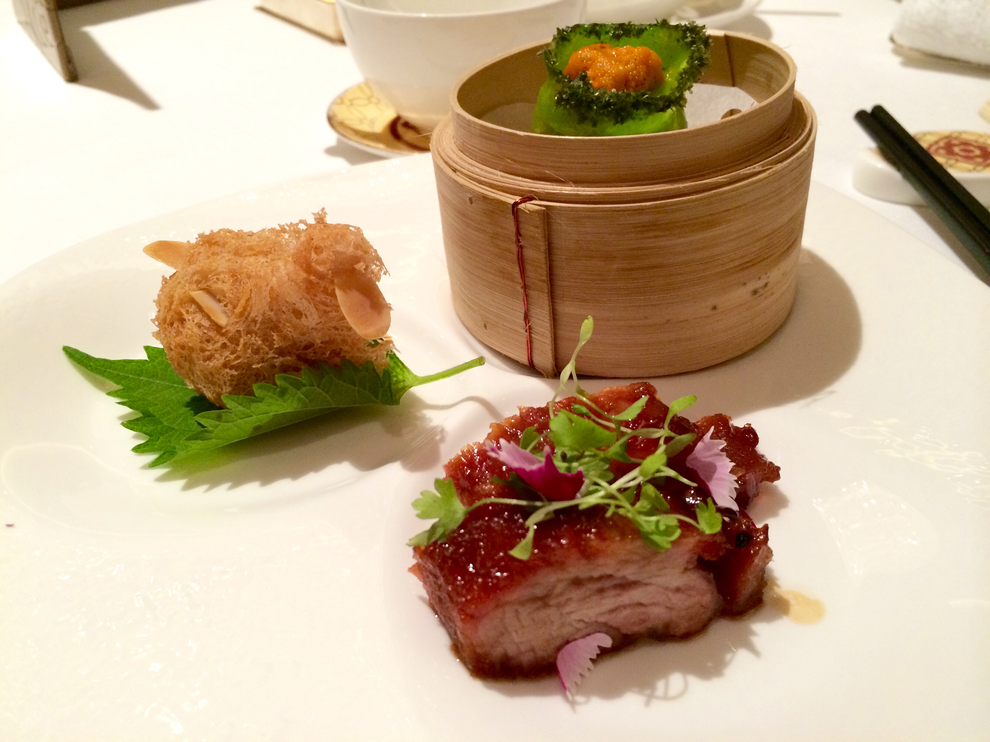 A Michelin Meal at Shang Palace In Hong Kong