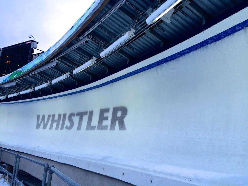 Bobsleigh Whistler Sliding Centre