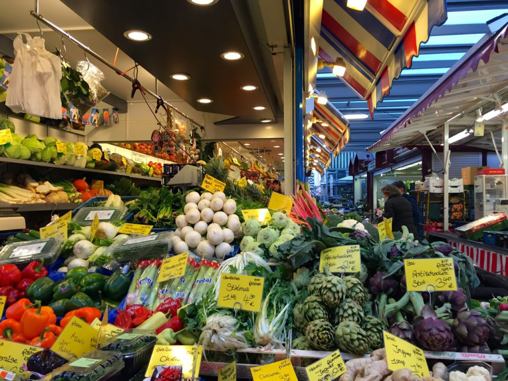 Carlsplatz Market Dusseldorf