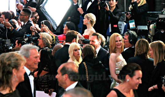Clint Eastwood Nicole Kidman Anna Faris Oscars Red Carpet 2015