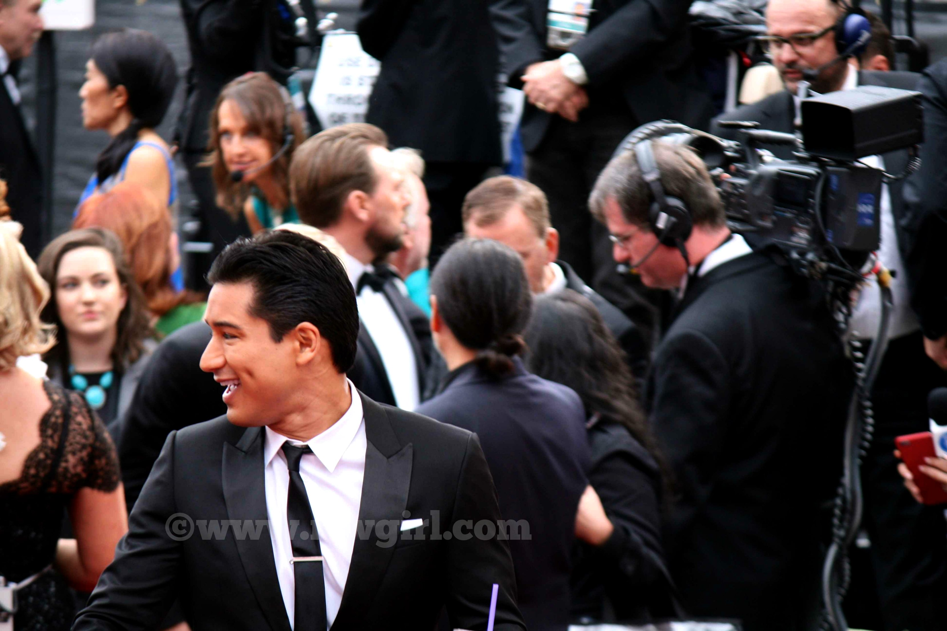 Mario Lopez Oscars Red Carpet 2015