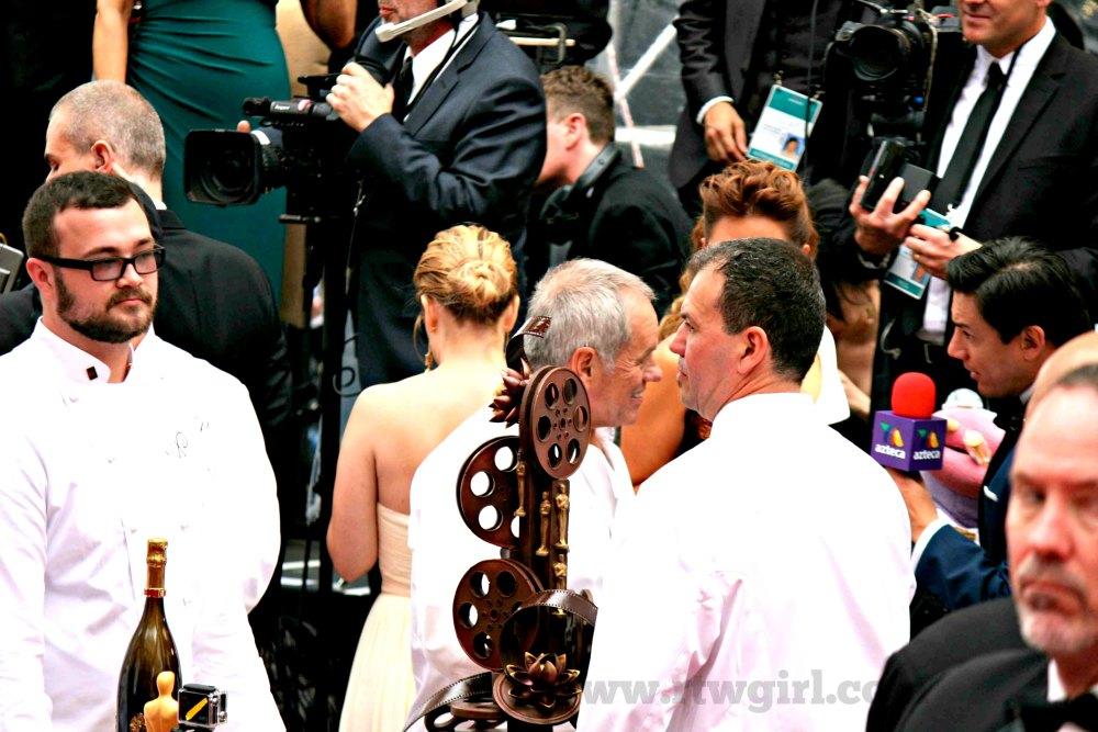 Oscars Red Carpet 2015 Wolfgang Puck Cake