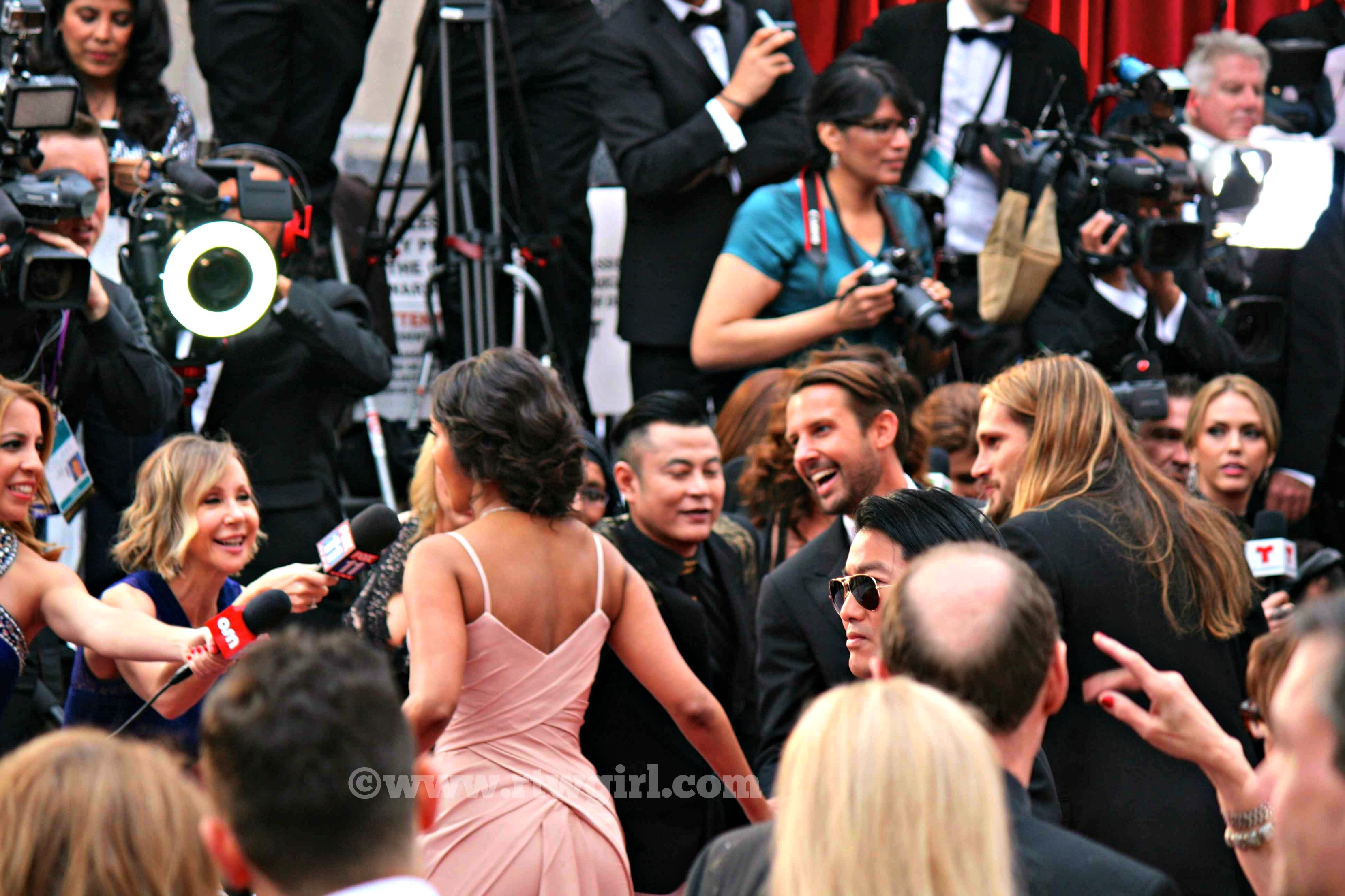 Zoe Saldana Red Carpet 2015