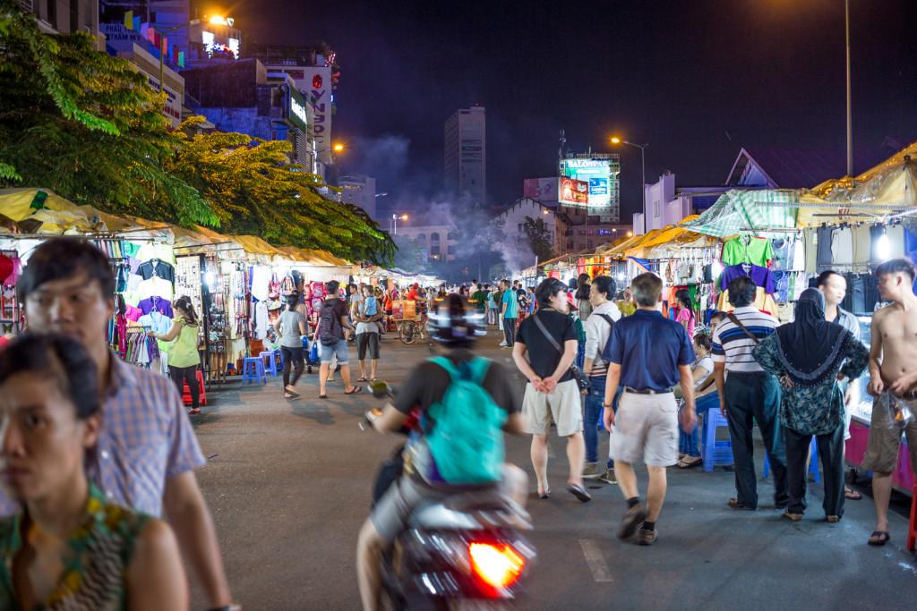 Ben Thanh Market Ho Chi Minh City Vietnam