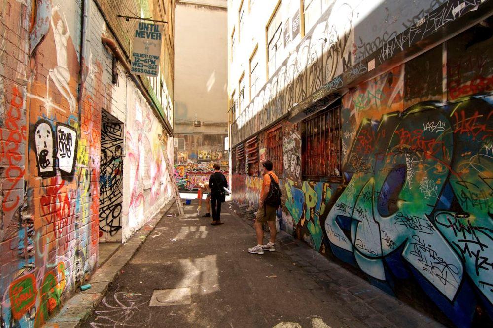 Laneway in Australia