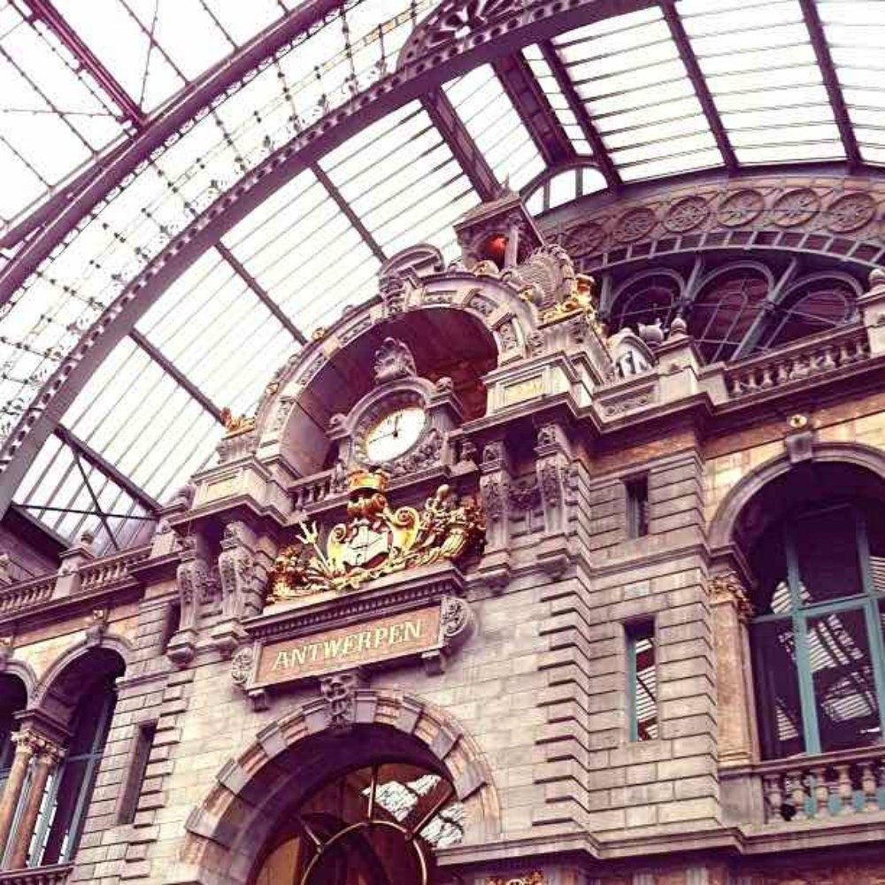 Rail Europe Antwerp Belgium station