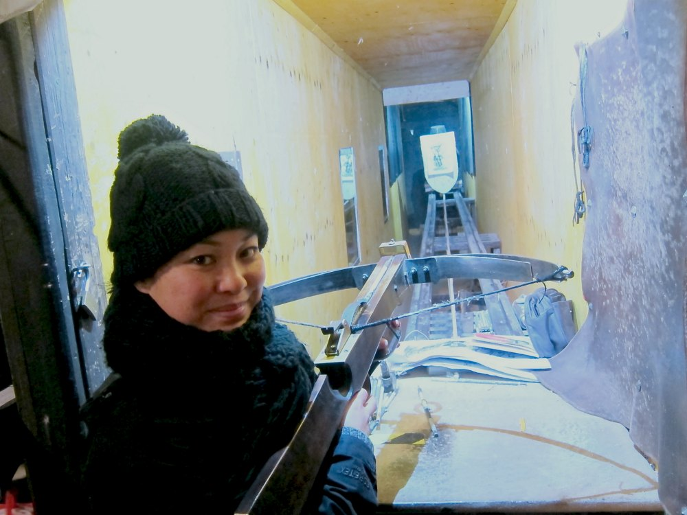Prague Crossbow Selfie | www.rtwgirl.com