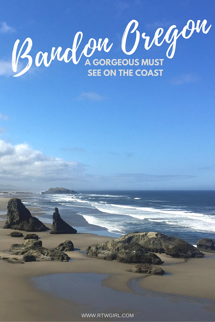 Bandon By The Sea, Oregon | www.rtwgirl.com
