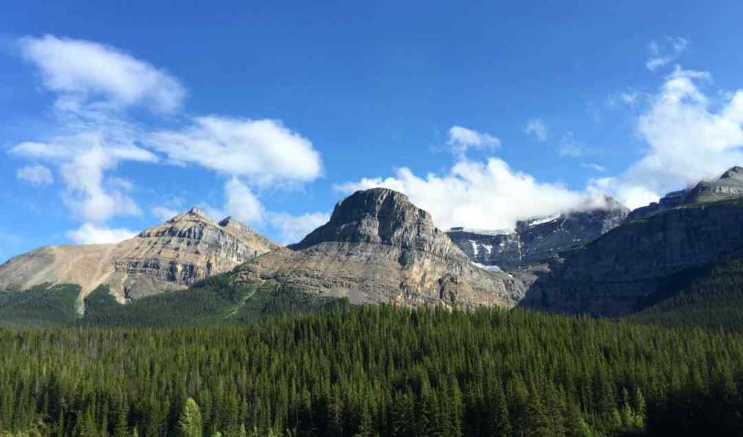 Yoho National Park seen from the Rocky Mountaineer train | www.rtwgirl.com
