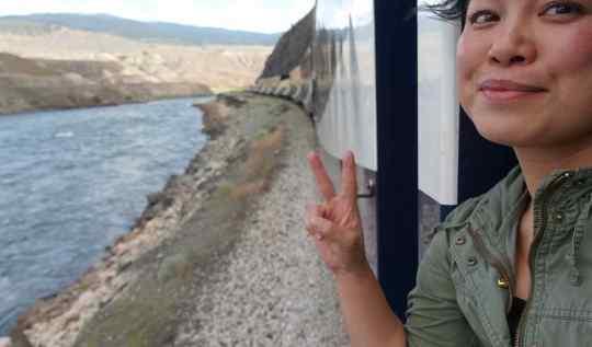 Rocky Mountaineer selfie | www.rtwgirl.com