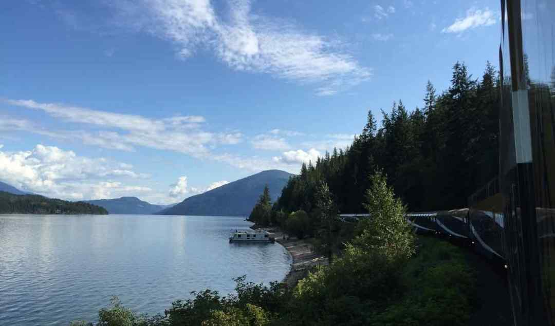 Shuswap Lake From The Rocky Mountaineer | www.rtwgirl.com