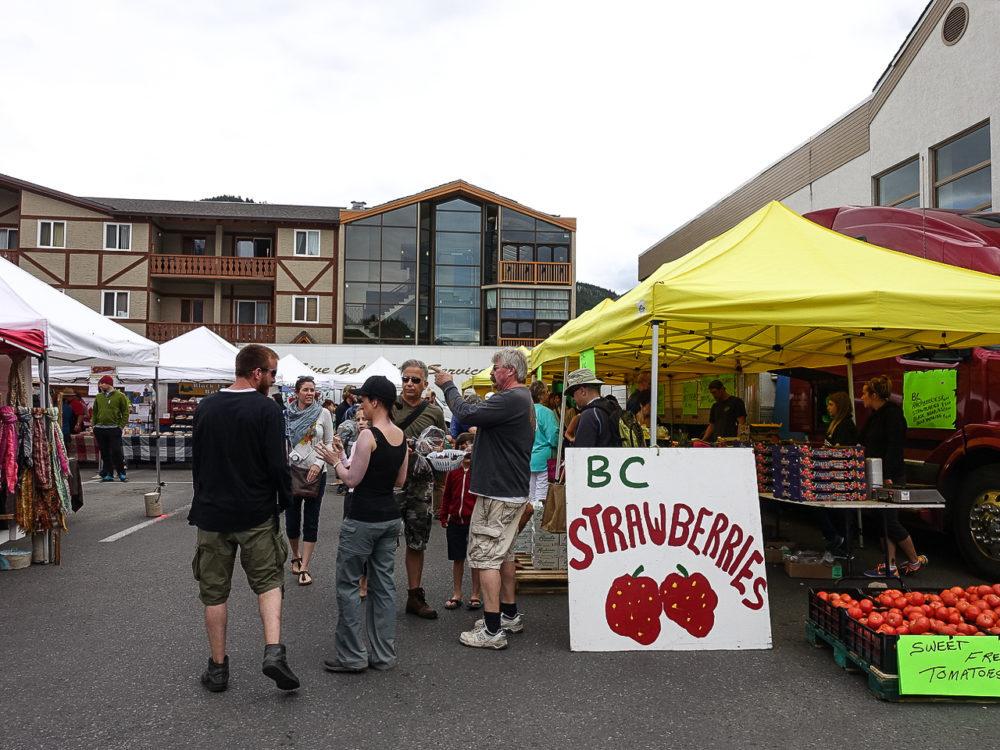 Banff farmers market