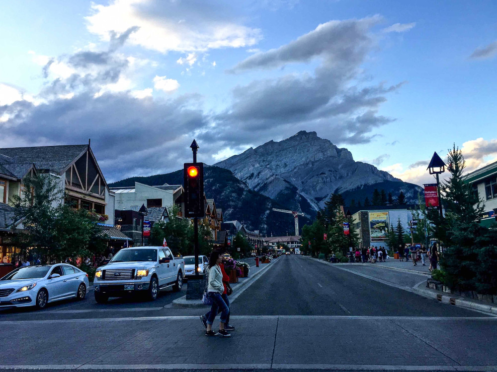 Banff Town | www.rtwgirl.com