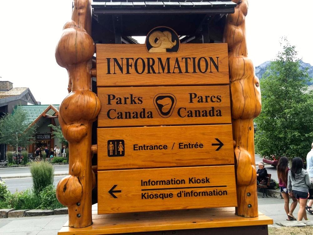 Info Centre Banff