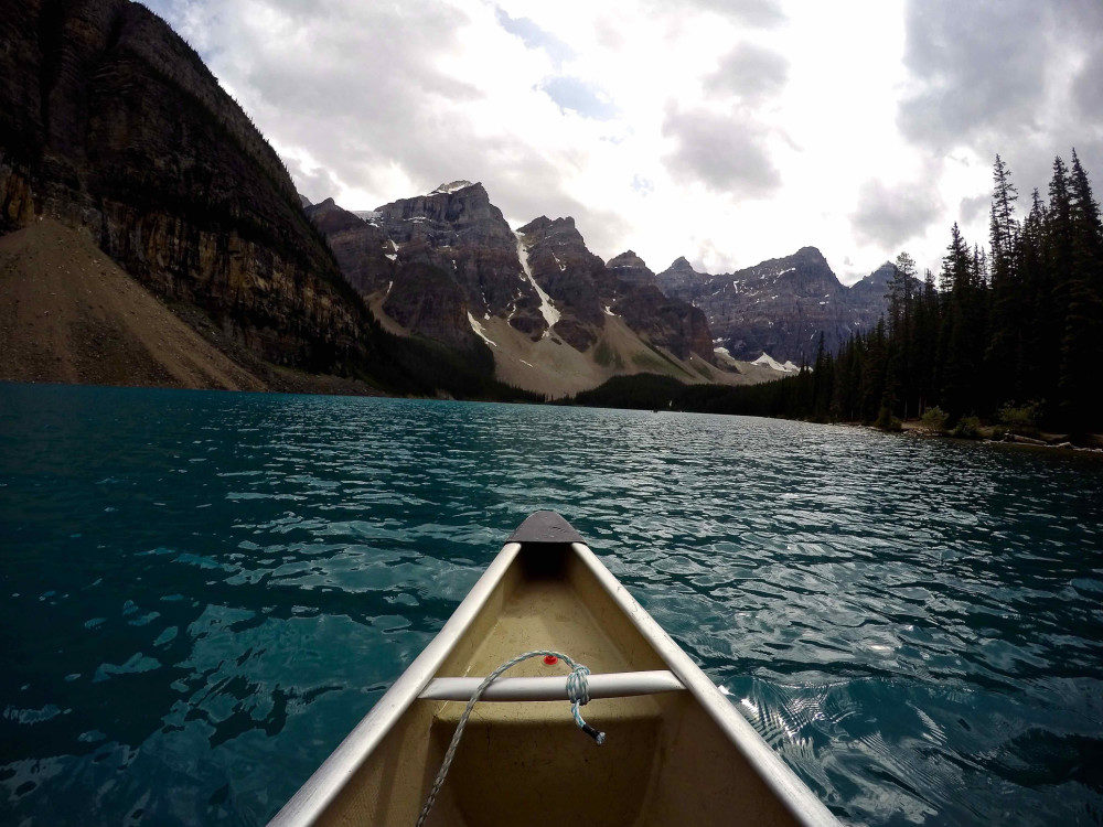 Moraine Lake GoPro