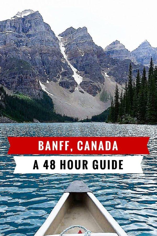 48 Hours in Banff, Canada | rtwgirl