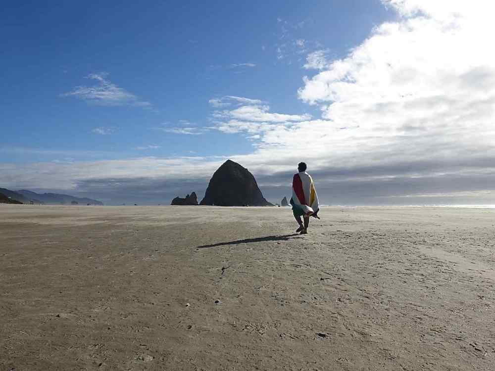 Haystack Rock Selfie
