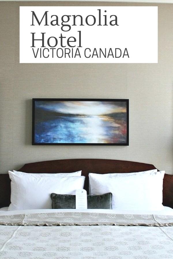 Magnolia Hotel A Lovely Boutique Hotel In Victoria Canada| www.rtwgirl.com