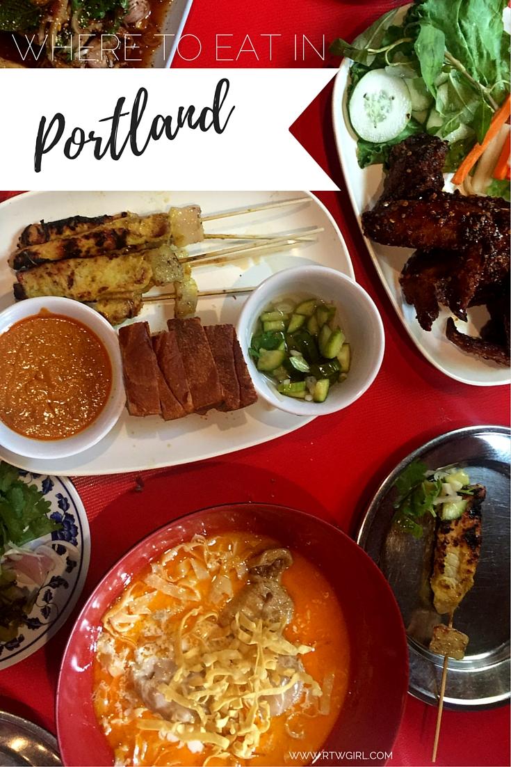 Portland Food: Where To Eat | www.rtwgirl.com