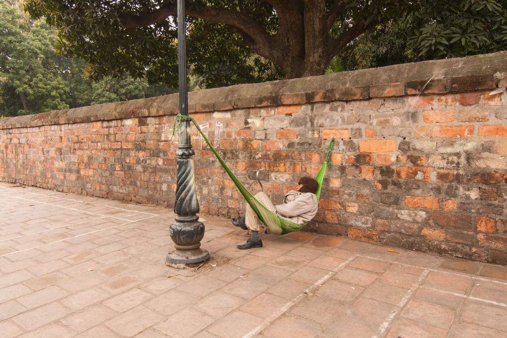 Nap Time in Vietnam