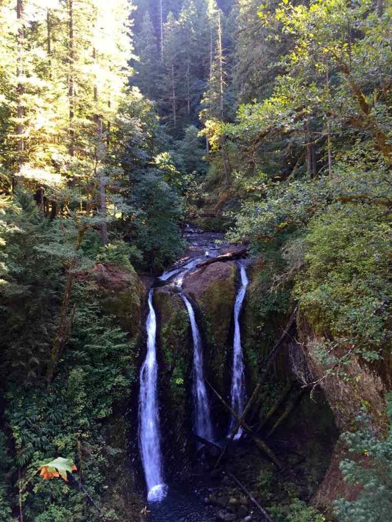 Triple Falls Oregon