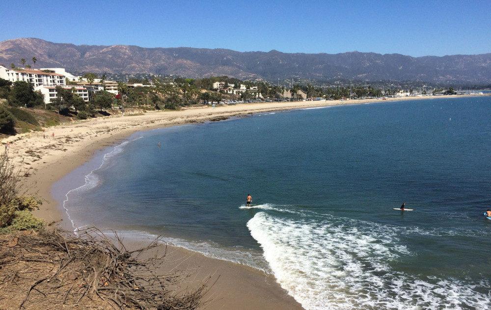 Leadbetter Beach Santa Barbara - California Road Trip