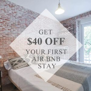 Get an Airbnb credit by using my link!