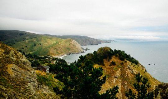 Muir Beach Overlook in Marin County