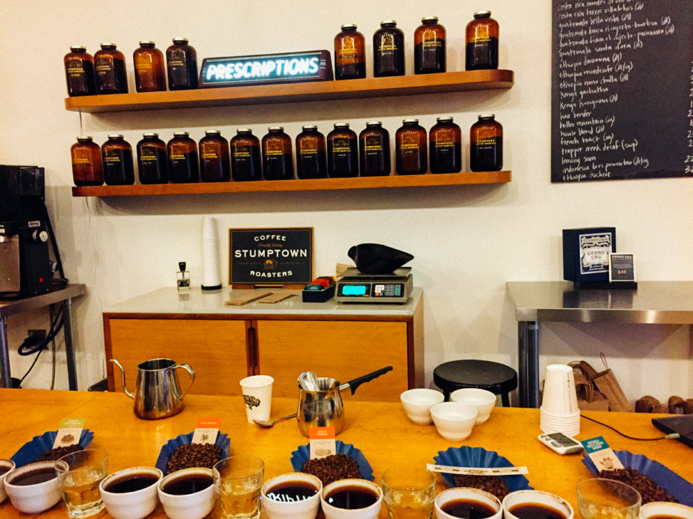 Stumptown Cupping