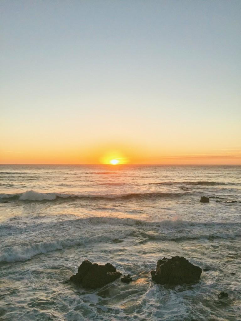 Cambria, California Sunset - California Road Trip Stops