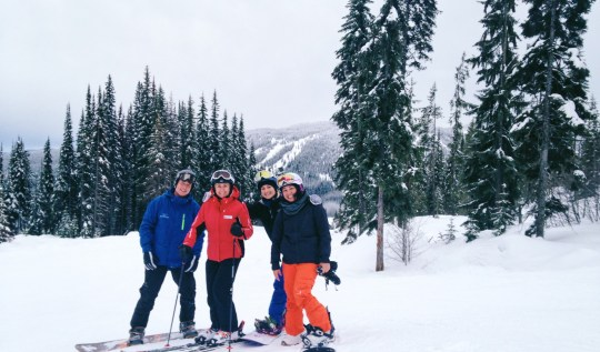 Snowboarding with Nancy Green at Sun Peaks | www.rtwgirl.com
