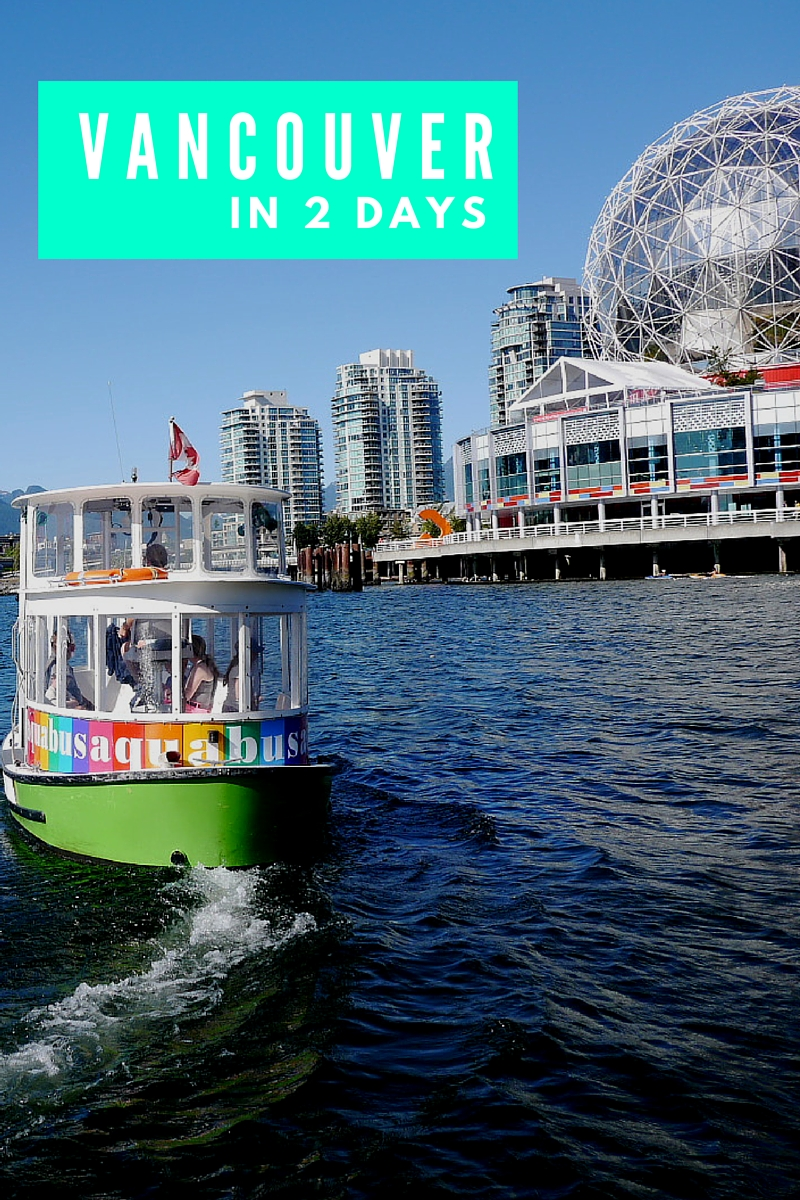 The Best Itinerary For A Vancouver Weekend | www.rtwgirl.com