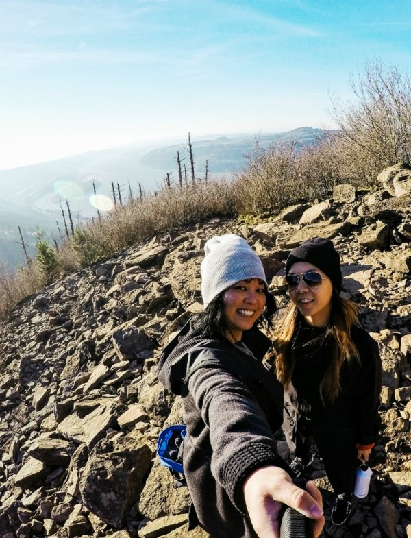Travel Fitness - hiking Angels Rest Oregon