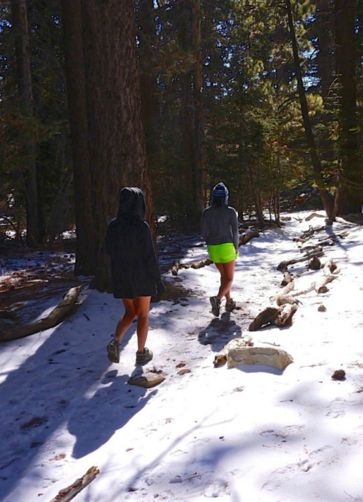 Travel Fitness - hiking Mount San Jacinto