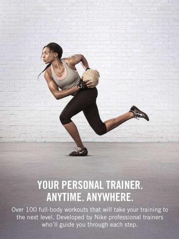 travel fitness - nike training club