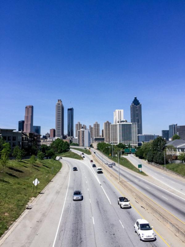 Atlanta From Jackson Street Bridge | rtwgirl