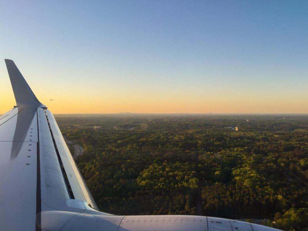 Flying into Atlanta Georgia | rtwgirl